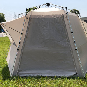 Manufactory fashionable outdoor tents for events outdoor 6 corners family tent