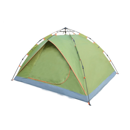 3-4 person 1 layer 2 doors 3 fold automatic tents camping outdoor waterproof