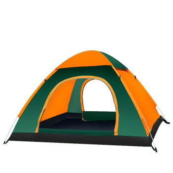 Many types 3 person 1 layer 2 doors camp tent for children