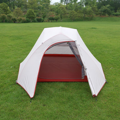 Waterproof outdoor camping cotton canvas 3 person large camping tent