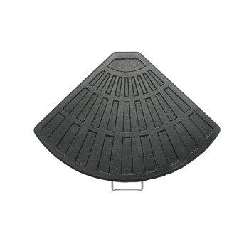 Excellent quality sun bases beach metal umbrella bottle base logo