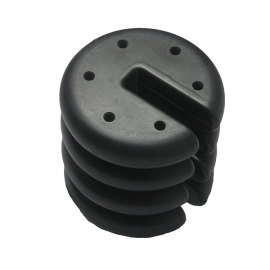 Vintage style durable PE plastic, cement inside sand umbrella base oem