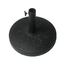 Dia.42x6cm mental round umbrella base suitable for dia.38/48mm tube