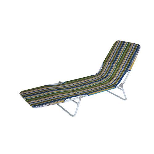 Poolside Aluminium Camp Bed Sun Lounger Chair-Cloudyoutdoor