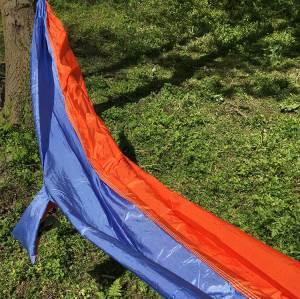 China factory good quality nylon fabric hammocks outdoor camping
