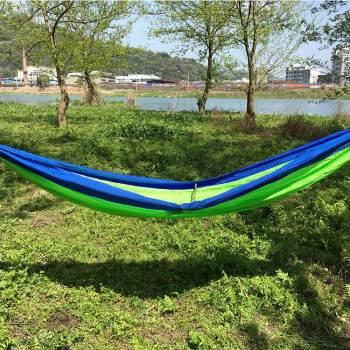 Portable nylon camping folding outdoor furniture hammock bed garden