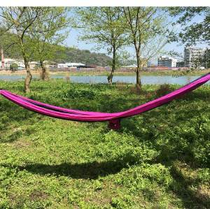 Lightweight nylon outdoor furniture portable hammock camping