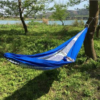 Portable Ultralight nylon hiking waterproof outdoor poly camping hammock
