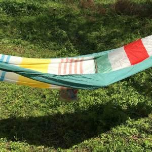 Outdoor nylon travel garden camping/hiking portable outdoor hammock