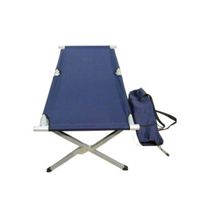 Portable Metal Steel Folding Reclining Beach Chaise Sun Lounger Bed Chair-Cloudyoutdoor