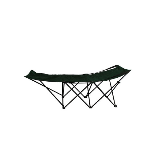 Outdoor Sun Chaise Lounger Folding Camping Bed-Cloudyoutdoor