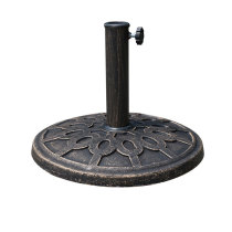 Excellent quality outdoor resin classic item umbrella base