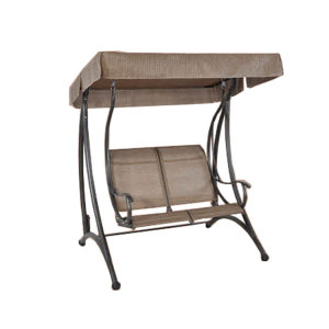 2 Seater steel double swing chair patio for outdoor garden