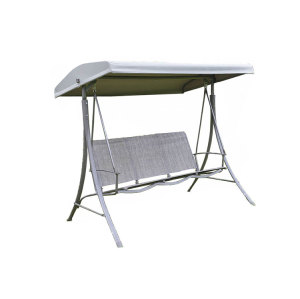 High Quality 3 Seater Steel Leisure Outdoor Garden Bench Seat Swing Chair-Cloudyoutdoor