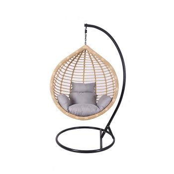 High quality garden balcony outdoor rattan wicker chair hanging ones