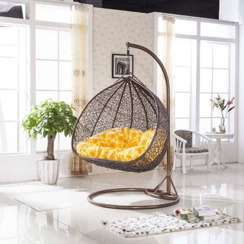 2019 best selling outdoor furniture wicker indoor hanging rattan egg chair