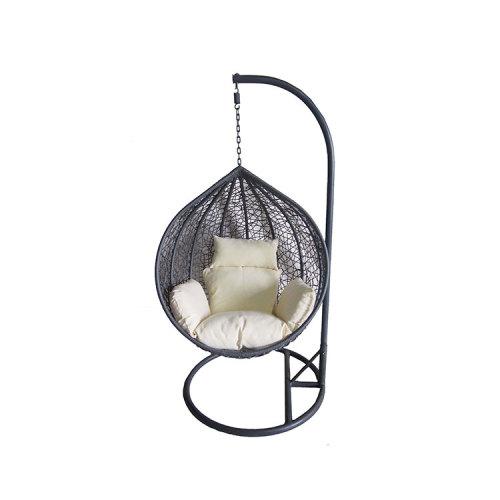 China wholesale custom waterproof garden hanging chair rattan swing