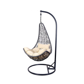 2019 outdoor garden furniture best quality living room rattan hanging egg chair