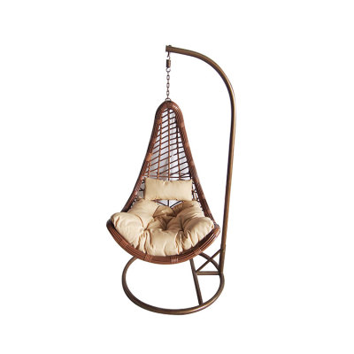 New style comfortable hanging outdoor rattan swing chair