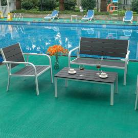 New design foldable hdpe plastic folding dining table outdoor