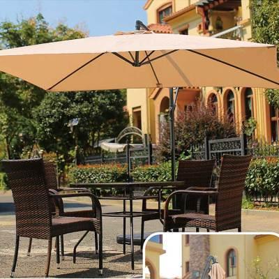Patio beach waterproof material outdoor furniture parasol