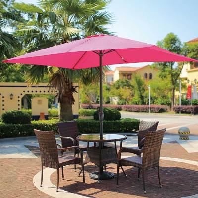 Wholesale beach aluminum outdoor customized logo parasol umbrella