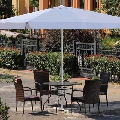 Garden waterproof and dustproof modern umbrellas parasol outdoor market