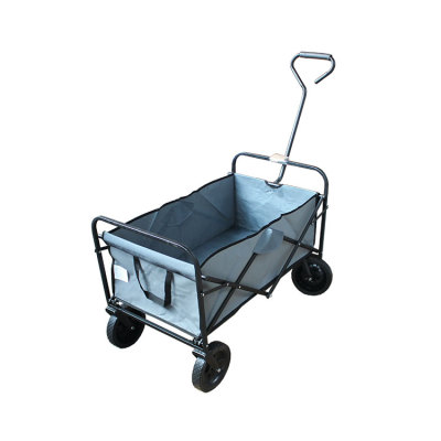 Mini Camping Trolley Collapsible Folding Utility Beach Wagon-Cloudyoutdoor
