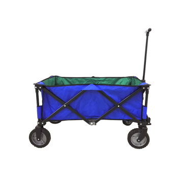 Conveniently Folded Folding Wagon Cart Trolley Wholesale for Easy Storage-Cloudyoutdoor