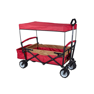 Multipurpose Collapsible Patio Watcher Folding Outdoor Utility Picnic Wagon-Cloudyoutdoor