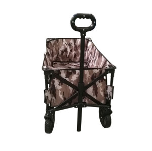 2020 New Design Collapsible Garden Folding Wagon Beach Cart Camping Outdoor-Cloudyoutdoor