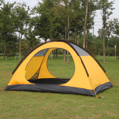 Manufactory fashionable outdoor aluminum waterproof tent for camping 2 person