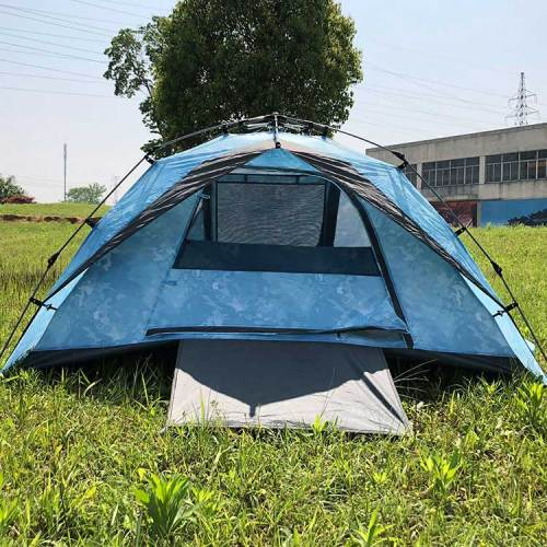 Cheap blue eco tent outdoor camping waterproof tent