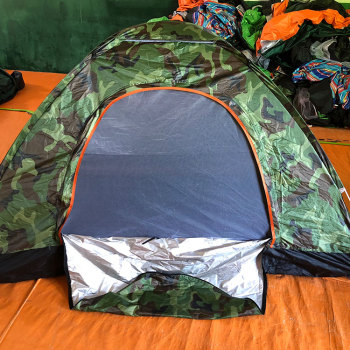 Lightweight outdoor backpacking 2 person pop up camping family tent