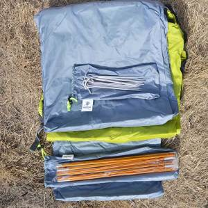 Backpacking tent pole desert 3-4 person ultralight camping tent waterproof