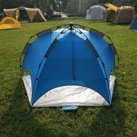 Blue tent supplier custom tent automatic beach