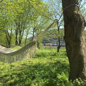 Wholesale custom thickness outdoor safety amazon net hammock