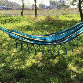 65% cotton 35%polyester outdoor camping hammock cover