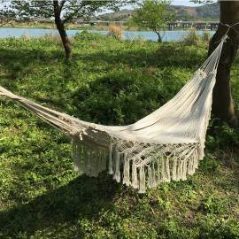 Outdoor garden hammock swing chair hanging camping