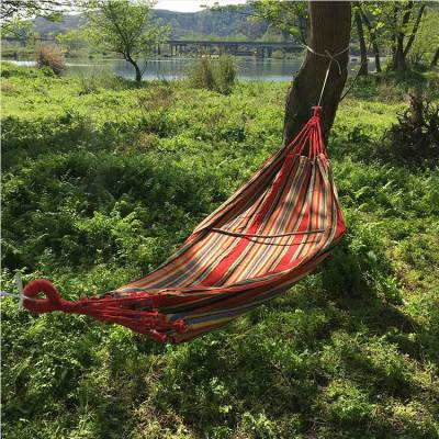 Travel portable camping fabric outdoor hammock bed swing garden