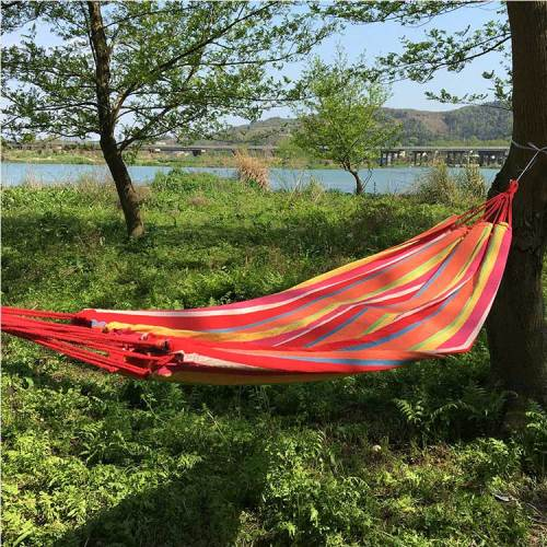 Backpacking sleeping bed lightweight and portable outdoor camping hammock
