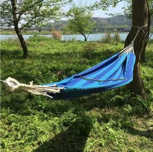 Adjustable tree hanging foldable portable patio swings hanging hammock