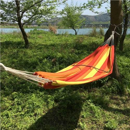 Ulatralight outdoor adult portable single person garden hammock swing chair hanging