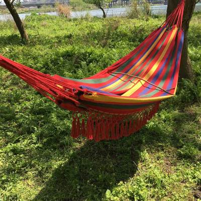 Garden outdoo home travel hiking outdoor furniture hammock cotton swing