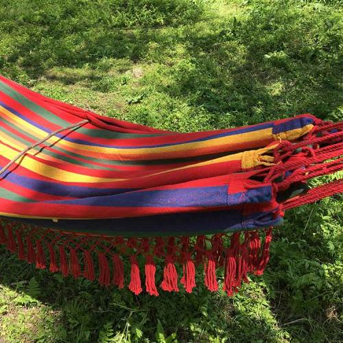 Garden outdoo home travel hiking outdoor furniture hammock cotton swing