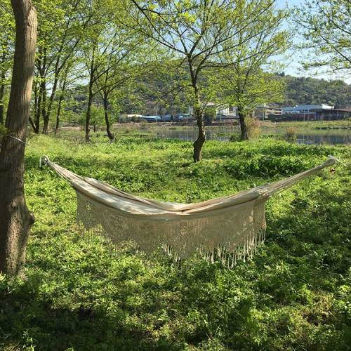 White custom portable folding camping hammock outdoor 2020 with net