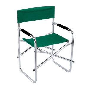 Outdoor Steel Leisure Beach Garden Folding Diretor Chair-Cloudyoutdoor
