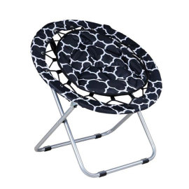 Outdoor/Indoor Comfortable Folding Saucer Chair-Cloudyoutdoor
