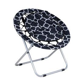 Outdoor/Indoor Comfortable Folding Saucer Chair-Cloudyoutdoor