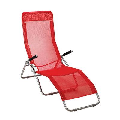 Break Breathable Mesh Folding Portable Beach Lounger Chair-Cloudyoutdoor